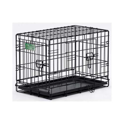 "Midwest Dog Double Door i-Crate Black 18"" x 12"" x 14""-Dog-Midwest-PetPhenom"