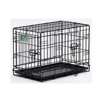 "Midwest Dog Double Door i-Crate Black 22"" x 13"" x 16""-Dog-Midwest-PetPhenom"