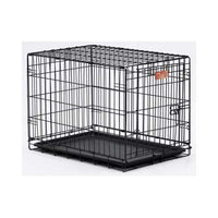 "Midwest Dog Single Door i-Crate Black 30"" x 19"" x 21""-Dog-Midwest-PetPhenom"