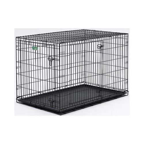 "Midwest Dog Double Door i-Crate Black 36"" x 23"" x 25""-Dog-Midwest-PetPhenom"