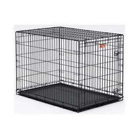 "Midwest Dog Single Door i-Crate Black 36"" x 23"" x 25""-Dog-Midwest-PetPhenom"