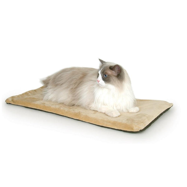 "K&H Pet Products Thermo-Kitty Mat Mocha 12.5"" x 25"" x 0.5""-Cat-K&H Pet Products-PetPhenom"