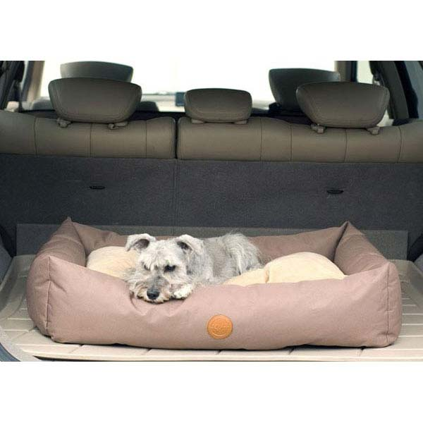 "K&H Pet Products Travel / SUV Pet Bed Small Tan 24"" x 36"" x 7""-Dog-K&H Pet Products-PetPhenom"