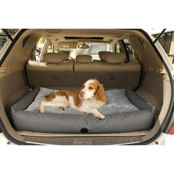 "K&H Pet Products Travel / SUV Pet Bed Small Gray 24"" x 36"" x 7""-Dog-K&H Pet Products-PetPhenom"