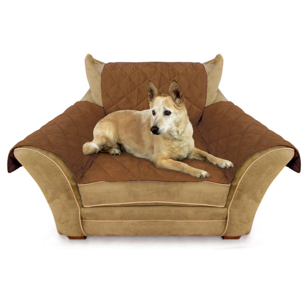 "K&H Pet Products Furniture Cover Chair Mocha 22"" x 26"" seat, 42"" x 47"" back, 22"" x 26"" side arms-Dog-K&H Pet Products-PetPhenom"