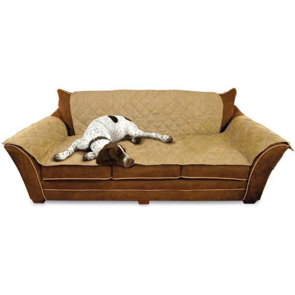 "K&H Pet Products Furniture Cover Couch Tan 26"" x 70"" seat, 42"" x 88"" back, 22"" x 26"" side arms-Dog-K&H Pet Products-PetPhenom"