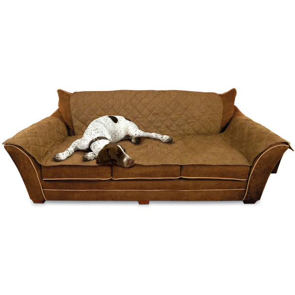 "K&H Pet Products Furniture Cover Couch Mocha 26"" x 70"" seat, 42"" x 88"" back, 22"" x 26"" side arms-Dog-K&H Pet Products-PetPhenom"