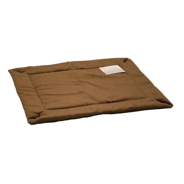 "K&H Pet Products Self-Warming Crate Pad Extra Large Mocha 32"" x 48"" x 0.5""-Dog-K&H Pet Products-PetPhenom"