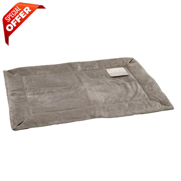 "K&H Pet Products Self-Warming Crate Pad Extra Large Gray 32"" x 48"" x 0.5""-Dog-K&H Pet Products-PetPhenom"