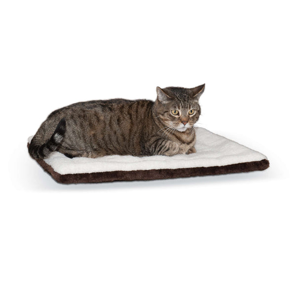 "K&H Pet Products Self-warming Pet Pad Oatmeal/Chocolate 21"" x 17"" x 1""-Dog-K&H Pet Products-PetPhenom"