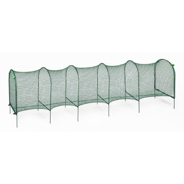 "Kittywalk Lawn Version Outdoor Cat Enclosure Green 120"" x 18"" x 24""-Cat-Kittywalk-PetPhenom"