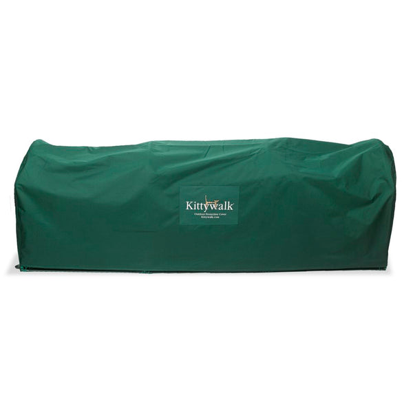 "Kittywalk Outdoor Protective Cover for Kittywalk Deck and Patio Green 72"" x 18"" x 24""-Cat-Kittywalk-PetPhenom"