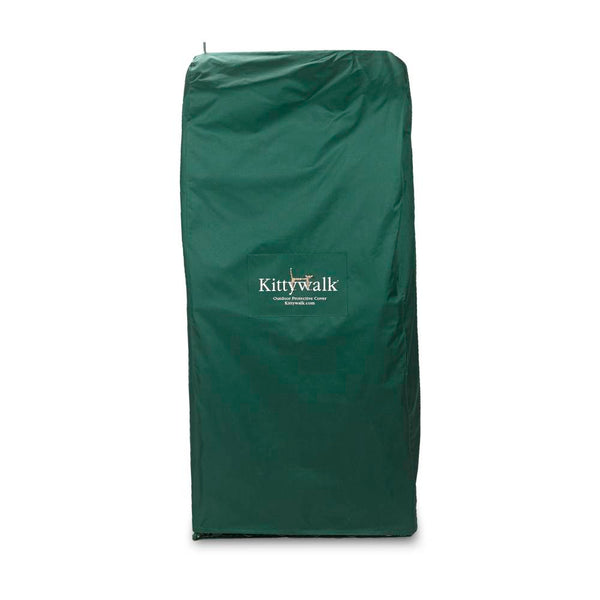 "Kittywalk Outdoor Protective Cover for Kittywalk Penthouse Green 18"" x 24"" x 60""-Cat-Kittywalk-PetPhenom"