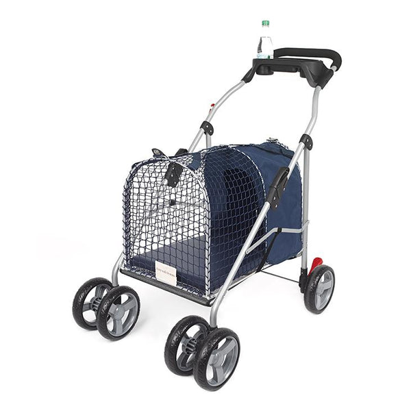 "Kittywalk 5th Ave Luxury Pet Stroller SUV Blue 31"" x 16"" x 37.5""-Cat-Kittywalk-PetPhenom"