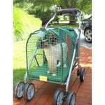 "Kittywalk Emerald Pet Stroller SUV Green 31"" x 16"" x 37.5""-Cat-Kittywalk-PetPhenom"
