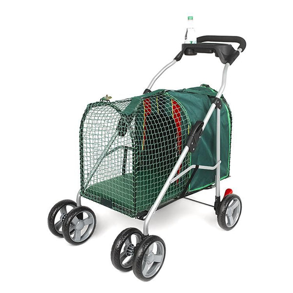 "Kittywalk Emerald Pet Stroller Green 26"" x 14"" x 35.5""-Cat-Kittywalk-PetPhenom"