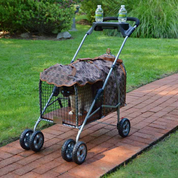 "Kittywalk Classic Pet Stroller SUV Royale 31"" x 16"" x 37.5""-Cat-Kittywalk-PetPhenom"