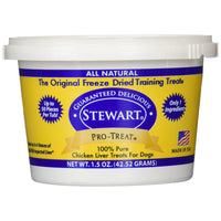 Miracle Corp Stewart Pro-Treat Freeze Dried Chicken Liver 1.5 oz.-Dog-Miracle Corp-PetPhenom