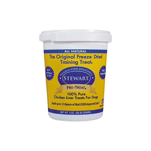 Miracle Corp Stewart Pro-Treat Freeze Dried Chicken Liver 3 oz.-Dog-Miracle Corp-PetPhenom