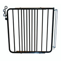 "Cardinal Gates Auto Lock Hardware Mounted Dog Gate Black 26.5"" - 40.5"" x 1.5"" x 29.5""-Dog-Cardinal Gates-PetPhenom"
