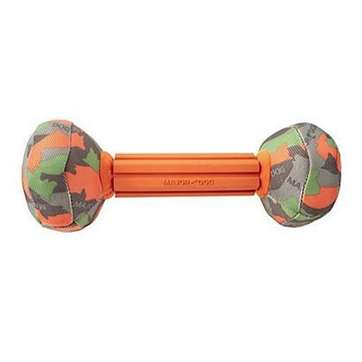Major Dog Major Dog Barbell -Orange Small 9.5 in-Dog-Major Dog-PetPhenom