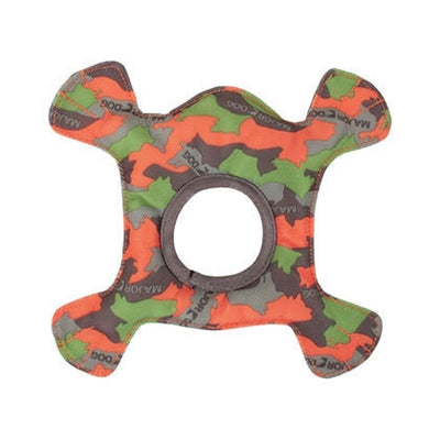 Major Dog Major Dog Frog - Camo Green/Orange 8 in-Dog-Major Dog-PetPhenom