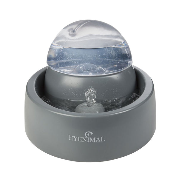 Eyenimal Pet Fountain 50 ounces Gray-Dog-Eyenimal-PetPhenom