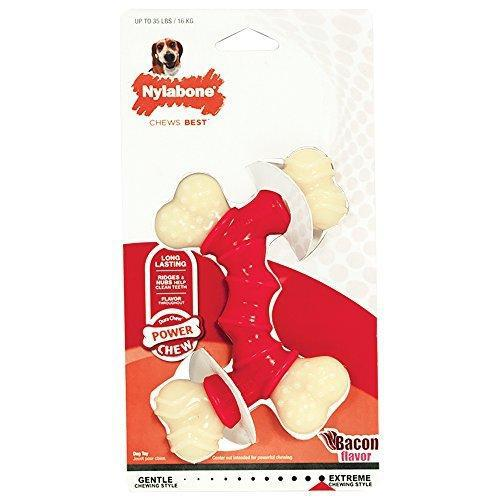 Nylabone Dura Chew Double Bone, Bacon Flavor-Dog-Nylabone-PetPhenom
