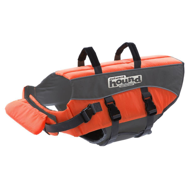 "Outward Hound Dog Life Jacket Medium Orange 9"" x 17"" x 11"""