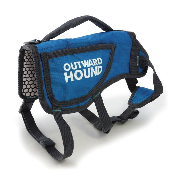 Outward Hound Dog ThermoVest Large Blue