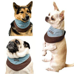 Outward Hound Kyjen Designer Cool-It Bandana, Blue, Medium-Dog-Outward Hound-PetPhenom