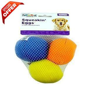 Outward Hound Squeakin Eggs, 3 pack