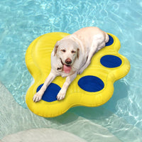 "Paws Aboard Doggy Lazy Raft Large Yellow 50"" x 39""-Dog-Paws Aboard-PetPhenom"
