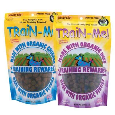 Train-Me Organic Training Trts - 16oz. -Beef-Dog-Train-Me-PetPhenom