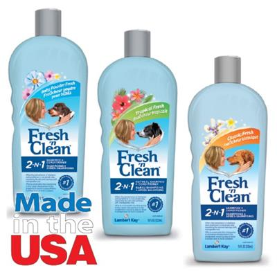 Pet-Ag Fresh 'n Cln 2 in 1 Conditioning Shampoos -Baby Powder-Dog-Pet-Ag-PetPhenom
