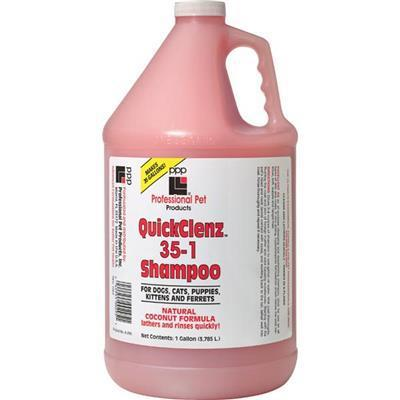 PPP - Professional Pet Products PPP QuickClenz Quick Rinse Shampoo - Gallon-Dog-Professional Pet Products-PetPhenom