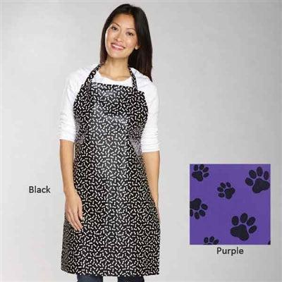 Top Performance® Top Performance® Waterproof Grooming Apron -Purple (Paws)-Dog-Top Performance-PetPhenom