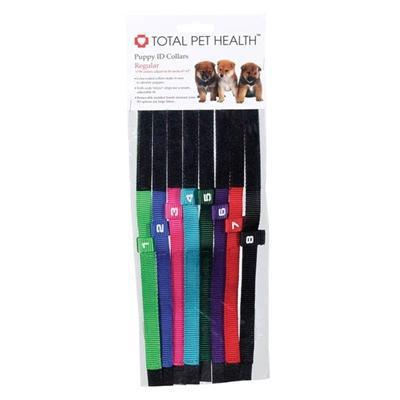 Total Pet Hlth™ Total Pet Hlth™ Puppy ID Collars -Regular Size-Dog-Total Pet Health-PetPhenom