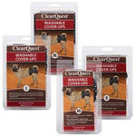 Clr Quest™ Clr Quest™ Washable Cover-Ups - 2 per pack, Black & Pink -Small-Dog-Clr Quest-PetPhenom