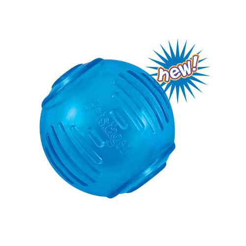 Petstages ORKA Tennis Ball Blue-Dog-Petstages-PetPhenom