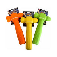 "Ruff Dawg Ruff Tools Hammer Dog Toy Assorted Colors 8.5"" x 3.5"" x 1""-Dog-Ruff Dawg-PetPhenom"