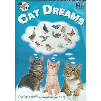 "Go Cat GoCat ""Cat Dreams"" DVD for Cats-Cat-Go Cat-PetPhenom"