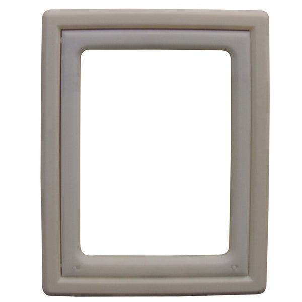 "Ideal Pet Products Screen Fit Pet Door Medium White 0.44"" x 10.63"" x 12.63""-Dog-Ideal Pet Products-PetPhenom"