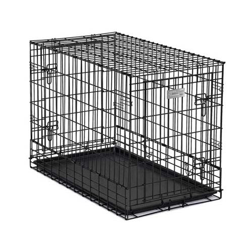 "Midwest Solutions Series Side-by-Side Double Door SUV Dog Crates Black 36"" x 21"" x 26""-Dog-Midwest-PetPhenom"