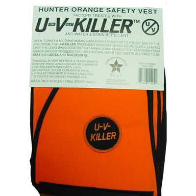 Atsko Atsko UV Killer Treated Blaze Orange Vest-Dog-Atsko-PetPhenom