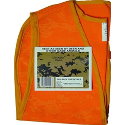 Atsko Atsko Sno-Seal UV Killer Camo Blaze Orange Vest-Dog-Atsko-PetPhenom