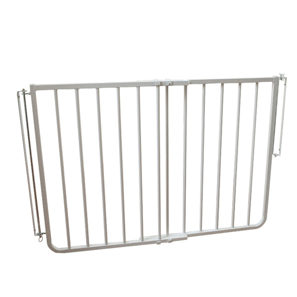 "Cardinal Gates Stairway Special Hardware Mounted Pet Gate White 27"" - 42.5"" x 1.5"" x 29.5""-Dog-Cardinal Gates-PetPhenom"