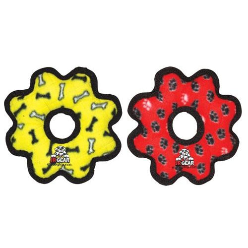 Tuffy® Jr. Gear Ring -Yellow Bone-Dog-Tuffy®-PetPhenom