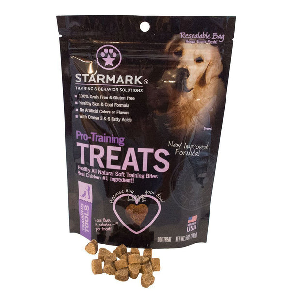 Starmark Pro-Training Treats Chicken Brown-Dog-Starmark-PetPhenom