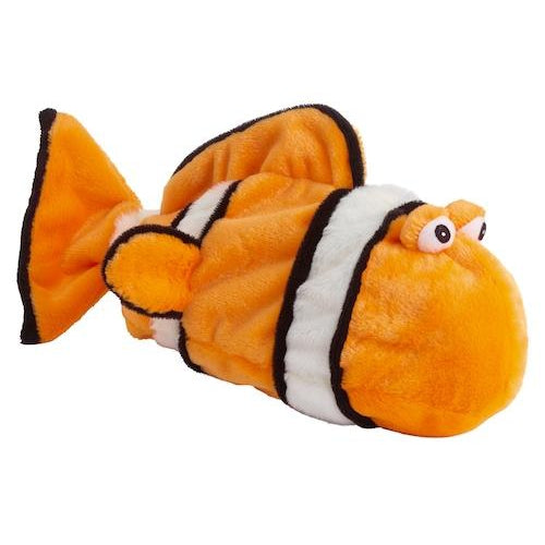 Doggles® Plush Bottle Clown Fish-Dog-Doggles®-PetPhenom